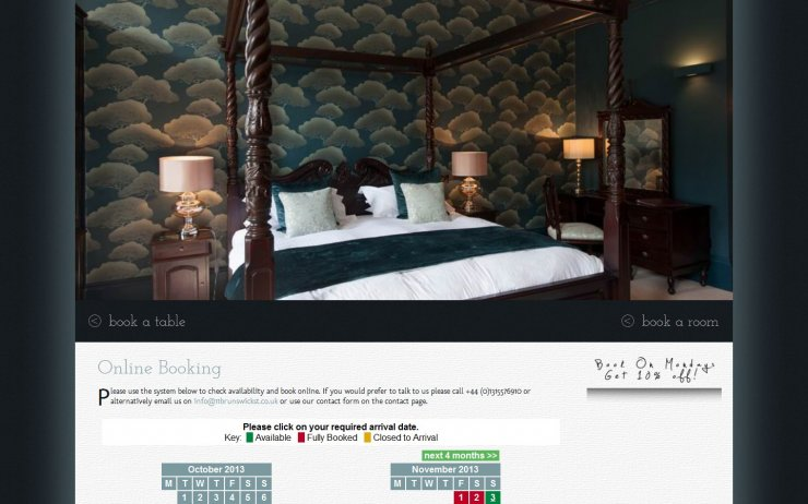 No11 - Online Booking Content